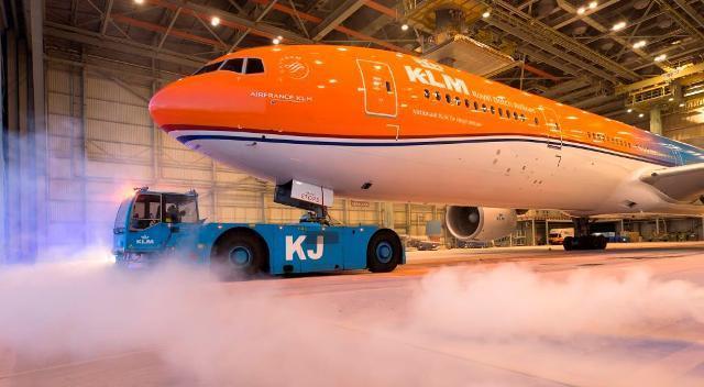 Resultado de imagen de avión de última generación klm