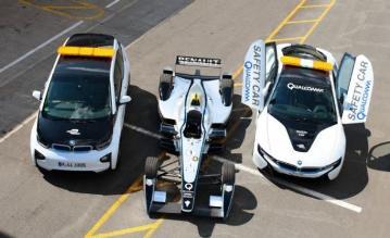 Renault hizo punta en la Fórmula E, pero la flota de safety cars fue BMW