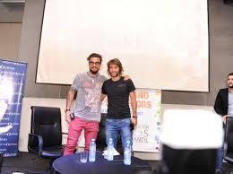 Ponzio y Osvaldo dijeron presente en el evento