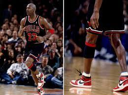 El número 23 en su época de jugador con las Air Jordan 1