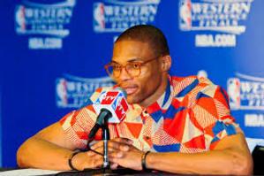 No mentía sobre el sentido de moda de Westbrook
