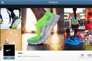 El perfil de Instagram de Nike, que se sube a la red social