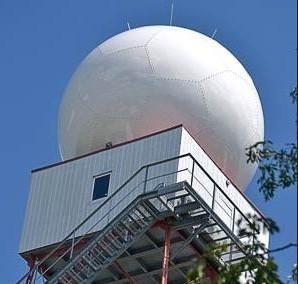 En breve este radar de producción nacional comenzará a prestar servicio.