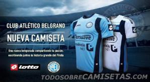 La nueva indumentaria de Belgrano de Córdoba