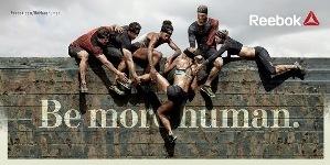 """""""Be More Human"""" la nueva campaña de Reebok"""