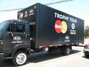 DHL y MasterCard se encargarán del tour fuera de Chile