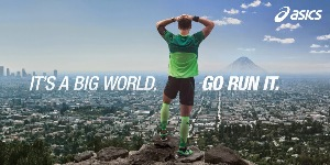 "La campaña ""It´s a Big World. Go Run It"""