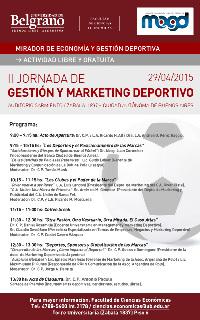 Los horarios del evento.