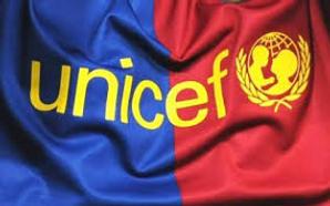 Unicef y Barcelona, solidarios por los niños de Asia