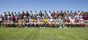 Todos los capitanes de los equipos de primera división estuvieron presentes