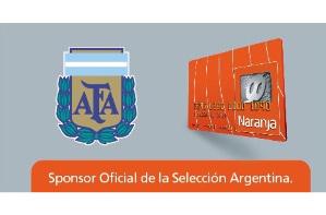 La selección y Tarjeta Naranja juntos hasta 2019