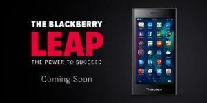 Leap, el nuevo lanzamiento de BlackBerry