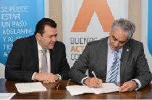 Se firmó el acuerdo entre Algar Tech y Provincia Net