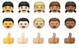 Así son los nuevos emojis