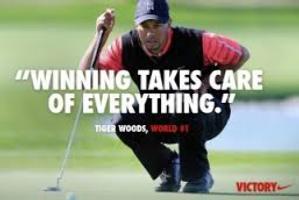 Woods parece tener un problema