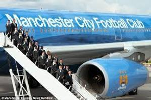 El City con su propio avión de Etihad Airways