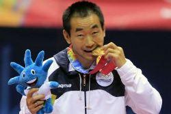 Song Liu, ya retirado, no podrá defender el oro de Guadalajara.