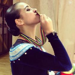 Uno de los cinco oros mundiales que suma Gigi Soler
