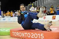 Como su hermana Elizabeth en 2011, Gigi Soler se coronó en patinaje artístico.