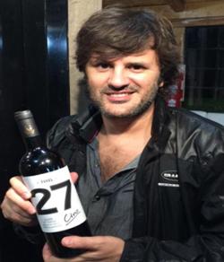 Ciro, del rock al vino