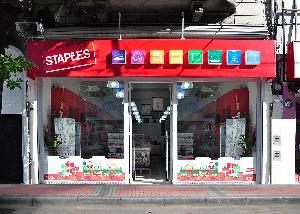 El nuevo local de Staples