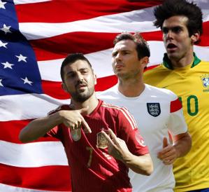 Kaká, Lampard y Villa, estrellas de una MLS que crece