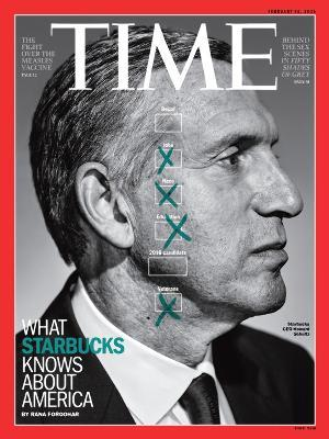 Howard Schultz, CEO de Starbucks.