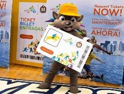 La mascota Pachi también hizo campaña para vender más entradas