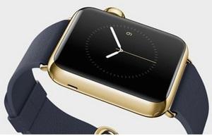 Apple busca oro para su smartwatch de lujo