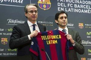 Telefónica trae el Barça a Latinomérica