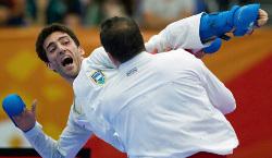 Miguel Amargós se colgó oro, su segunda medalla en Premier Legue.