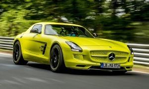 Mercedes ya tenía sus modelos eléctricos