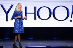 La directora general de Yahoo, Marissa Mayer.