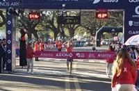 Matías Roht ganó la media maratón de Buenos Aires