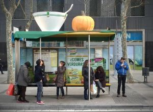 La campaña de Knorr en Barcelona