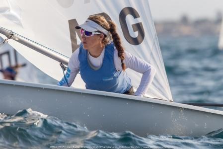 Con 22 años, Luli Falasca será olímpica por primera vez.