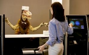 Un recepcionista muy particular