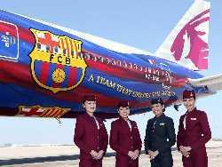 Qatar Airways, junto al Barça