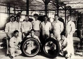 Los primeros neumáticos de Bridgestone, 1930