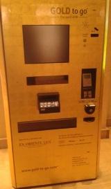 Oro en un cajero
