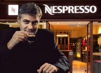 George Clooney, elegido embajador de la firma por los socios del club Nespresso.