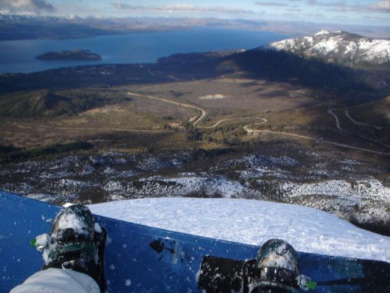 Bariloche sigue nevado