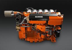 Los motores marinos de Scania