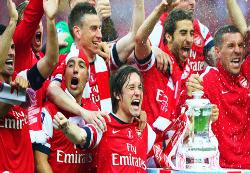 Arsenal, último campeón de la FA Cup