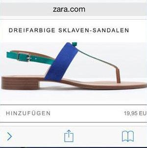 Las sandalias de la discordia para Zara