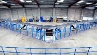 El drone tiene 42,67 metros de diámetro