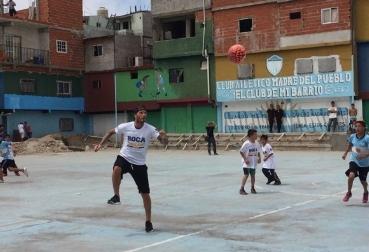 Beckham en Argentina