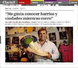 Me entrevistaron en Clarín