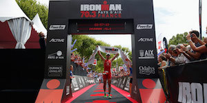 medio Ironman en Francia. ph: Ironman