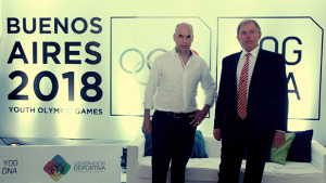 Rodríguez Larreta junto a  Gerardo Werthein